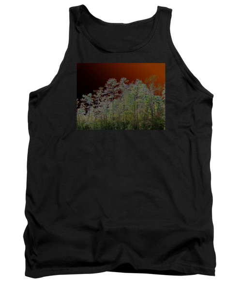 Pine Forest Tank Top by Connie Fox
