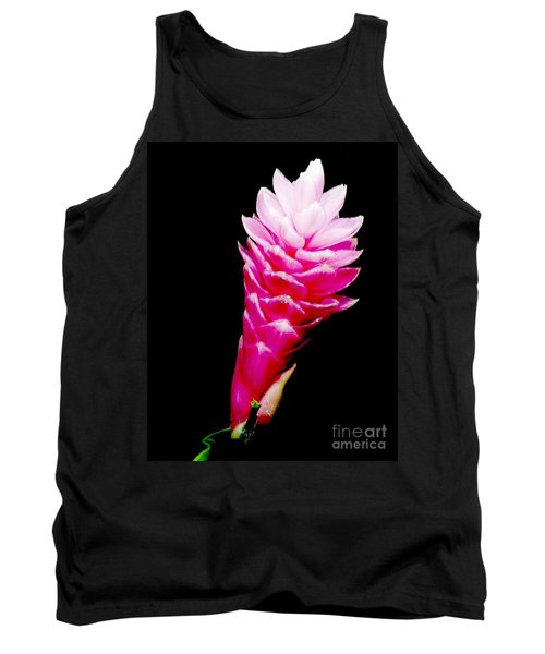 Pink Ginger Lilly Tank Top by Amar Sheow