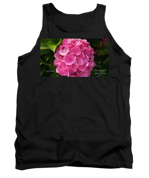 Tank Top featuring the photograph Blushing Rose by Jeannie Rhode