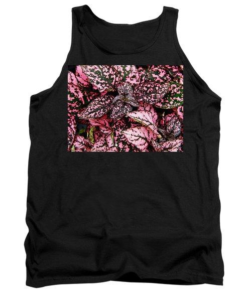 Pink - Plant - Petals Tank Top