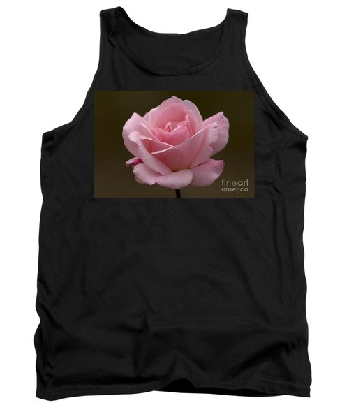 Tank Top featuring the photograph Pink Rose by Meg Rousher