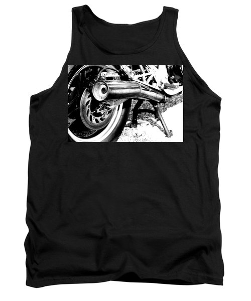Pipe Black And White Tank Top