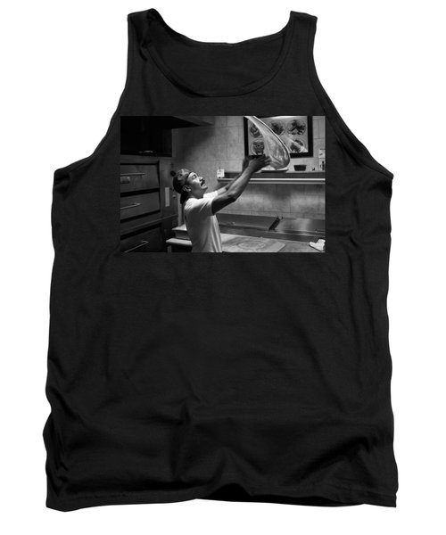 Pizza Toss Tank Top