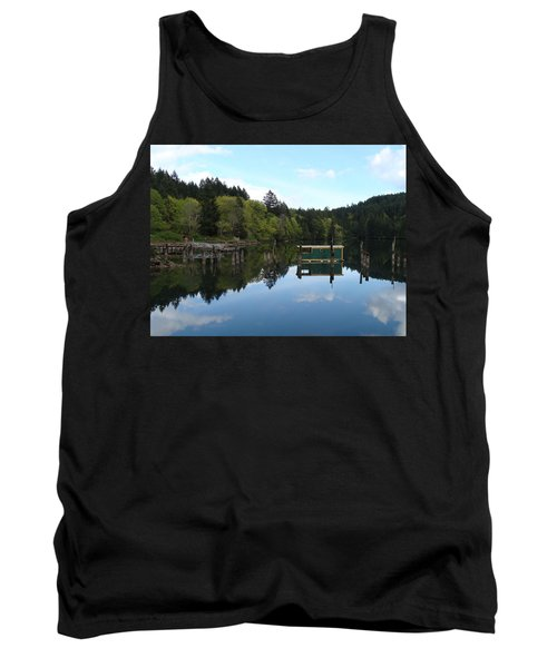 Place Of The Blue Grouse Tank Top by Cheryl Hoyle