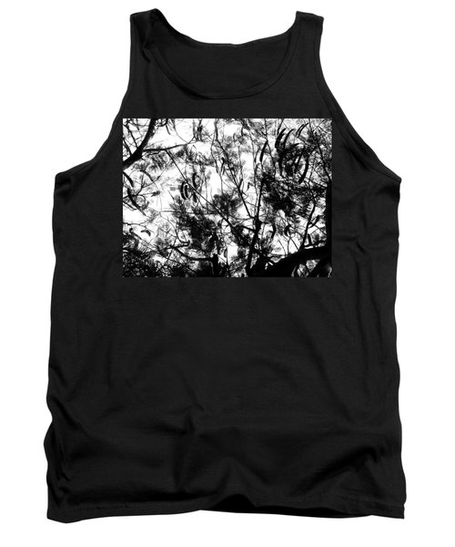 Tank Top featuring the photograph Poinciana Lace by Amar Sheow