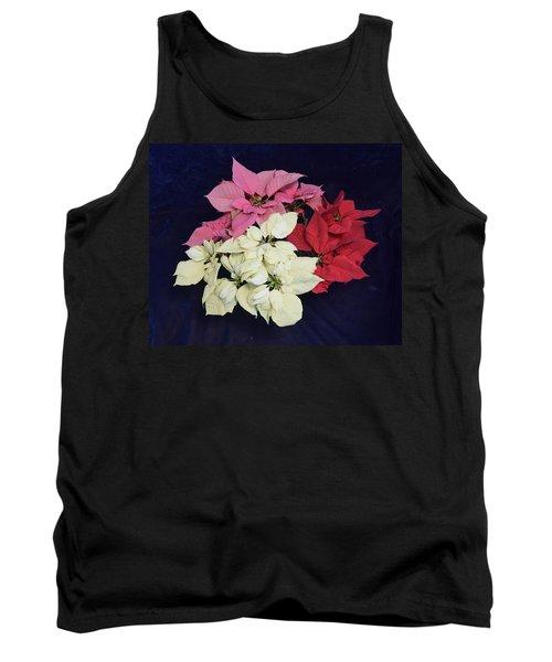 Poinsettia Tricolor Tank Top