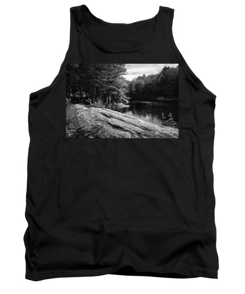 Tank Top featuring the photograph Pondside by Mark Myhaver