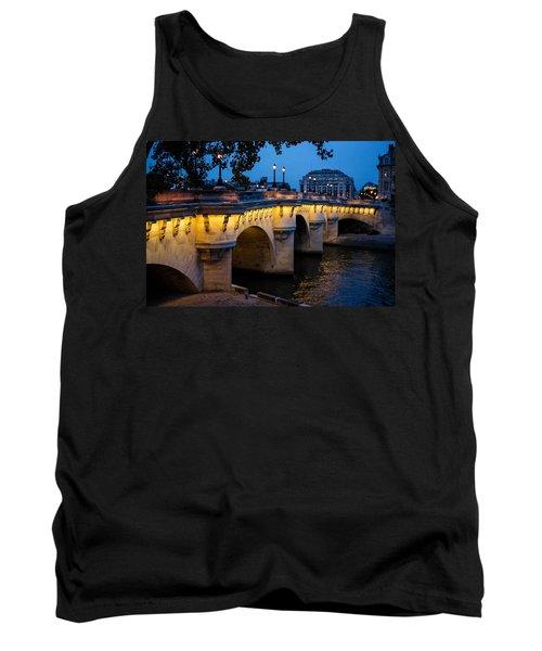 Pont Neuf Bridge - Paris France Tank Top