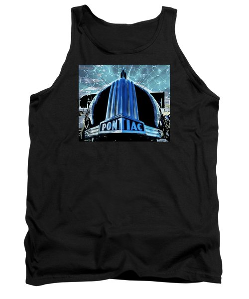 Pontiac Chrome Tank Top by Victor Montgomery