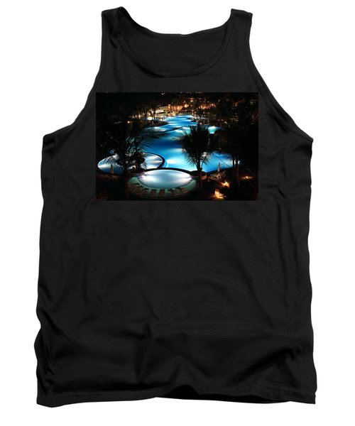Pool At Night Tank Top