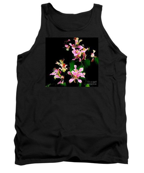 Poor Mans Orchid Tank Top by Amar Sheow