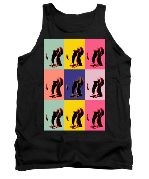 Pop Art Penguin  Tank Top