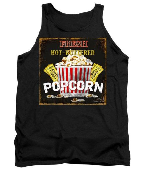 Popcorn Please Tank Top by Jean Plout
