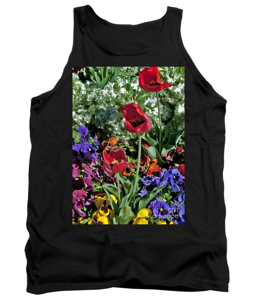 Tank Top featuring the photograph Poppies by Mae Wertz