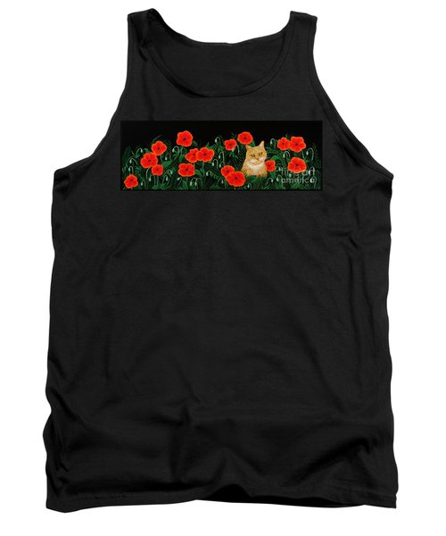 Poppy Cat Tank Top