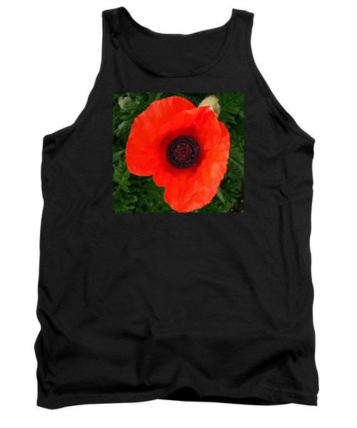 Tank Top featuring the photograph Poppy Of Remembrance  by Sharon Duguay