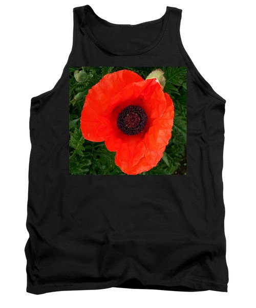 Poppy Of Remembrance  Tank Top