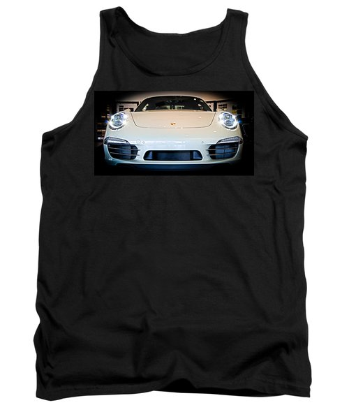 Porsche 911 50th Front With Led's Tank Top
