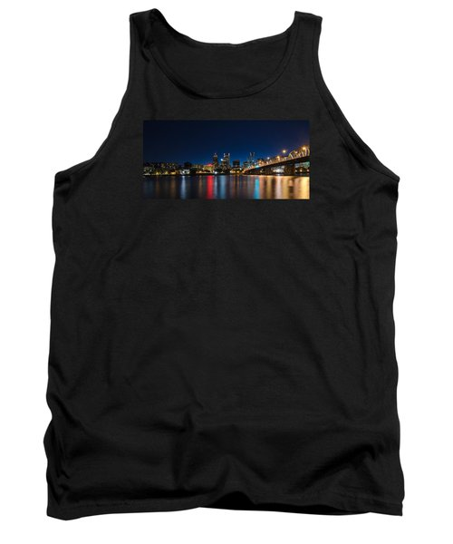 Portland Oregon Nightscape Tank Top