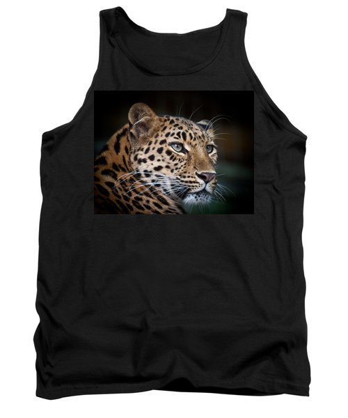 Portrait Of A Leopard Tank Top