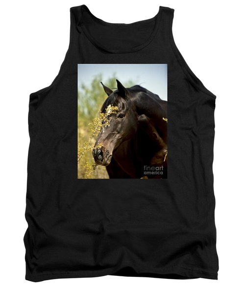 Portrait Of A Thoroughbred Tank Top by Kathy McClure