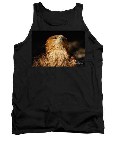 Portrait Of An Eastern Imperial Eagle Tank Top