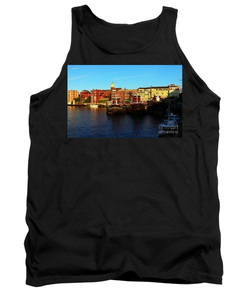 Portsmouth In The Afternoon Tank Top by Kevin Fortier