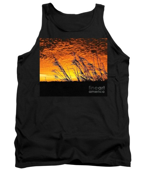 Tank Top featuring the photograph Post Hurricane Rita At Dockside In Beaumont Texas Usa by Michael Hoard