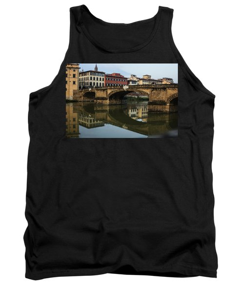Tank Top featuring the photograph Postcard From Florence  by Georgia Mizuleva