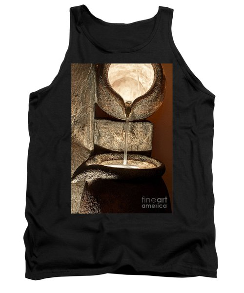Pouring Out Water Art Prints Tank Top by Valerie Garner
