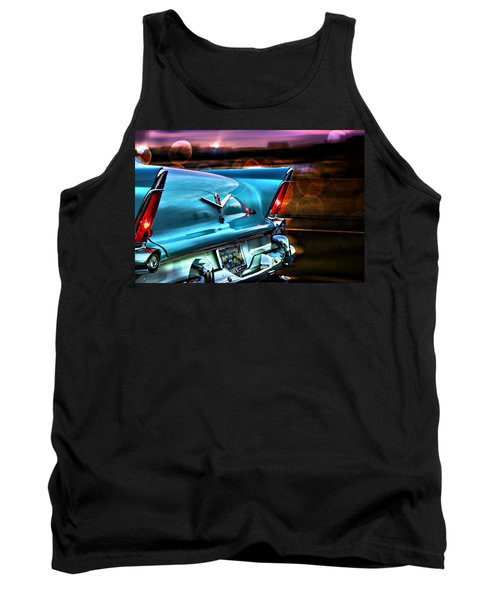 Classic Car Tank Top featuring the photograph Powerflite by Aaron Berg