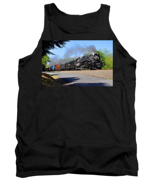 Powerful Nickel Plate Berkshire Tank Top