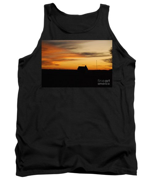 Prairie Sunset Tank Top by Mary Carol Story