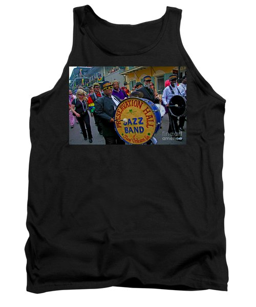 New Orleans Jazz Band  Tank Top