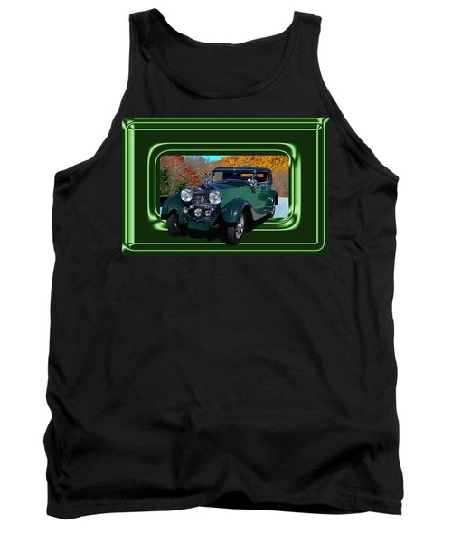 Tank Top featuring the photograph Pretentious by Larry Bishop