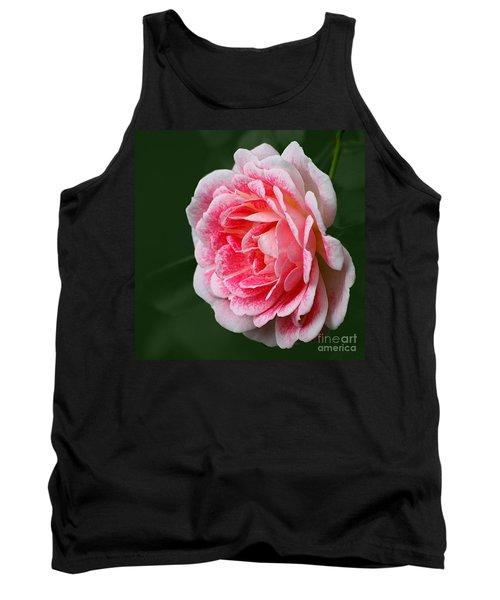 Pretty Pink Rose Tank Top