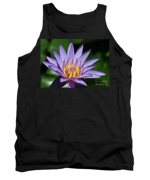 Pretty Purple Petals Tank Top