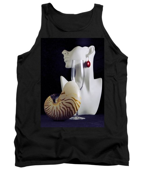 Tank Top featuring the photograph Pretty Woman I by Elf Evans