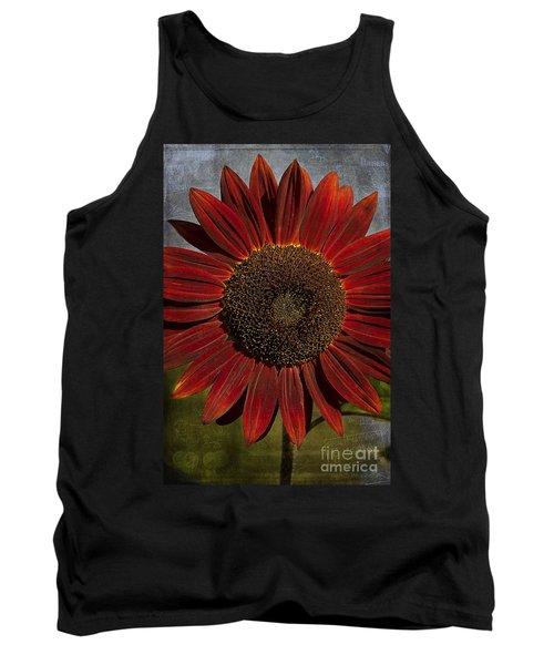 Primitive Sunflower 2 Tank Top