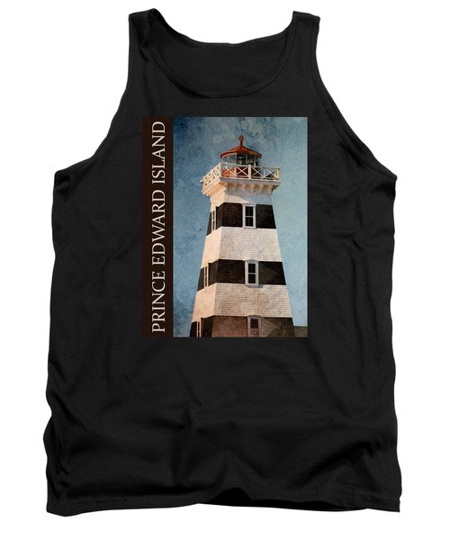 Tank Top featuring the photograph Prince Edward Island Lighthouse by WB Johnston