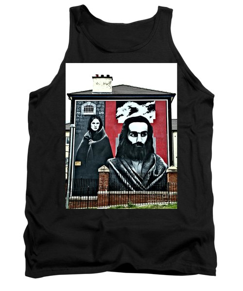 Prison Protest Tank Top by Nina Ficur Feenan