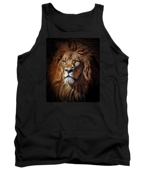Tank Top featuring the mixed media Proud N Powerful by Elaine Malott