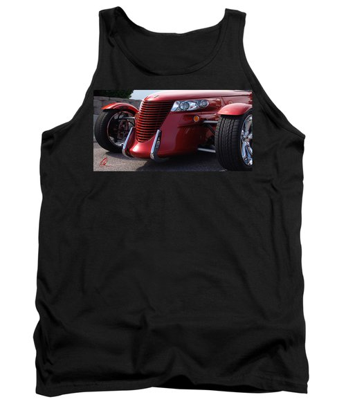 Tank Top featuring the photograph Prowler  by Chris Thomas