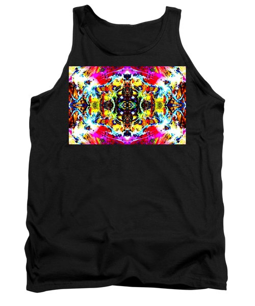 Tank Top featuring the photograph Psychedelic Abstraction by Marianne Dow
