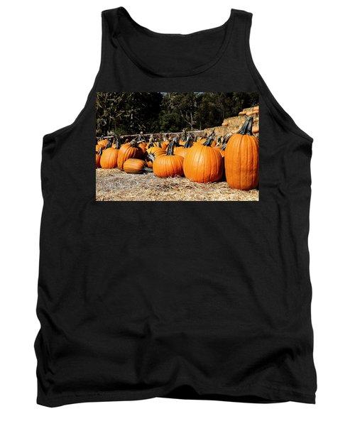 Pumpkin Goofing Off Tank Top