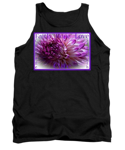 Purple Awareness Support Tank Top