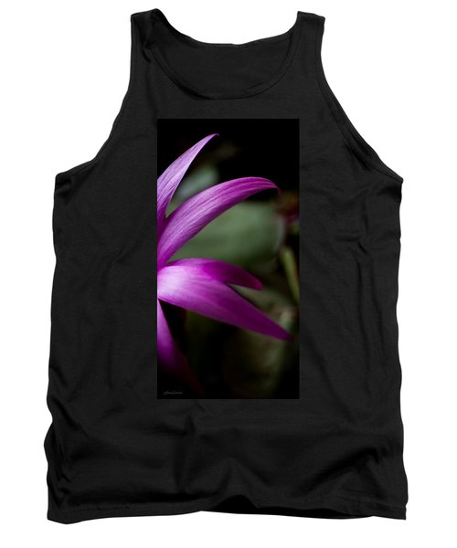 Tank Top featuring the photograph Purple Flower by Steven Milner
