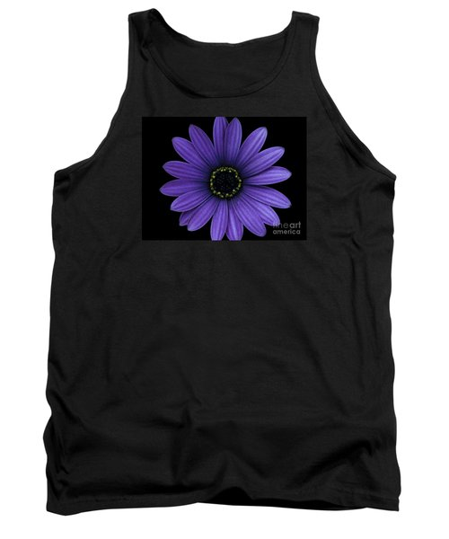 Tank Top featuring the photograph Purple Peace by Janice Westerberg