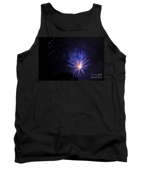 Tank Top featuring the photograph Purple Power by Suzanne Luft
