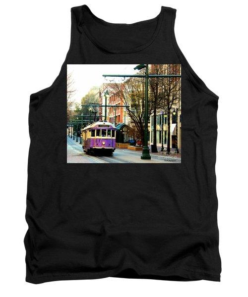 Purple Trolley Tank Top
